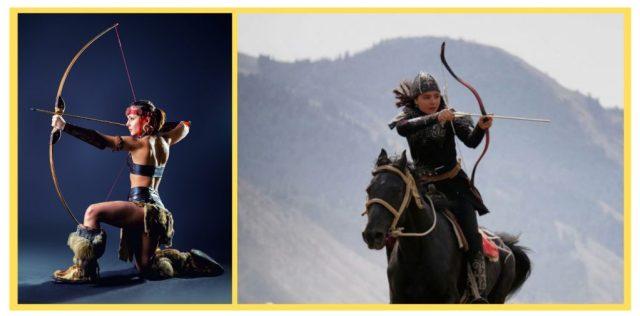 Amazon Workout. Scythian. Sarmatian. Warrior Women.