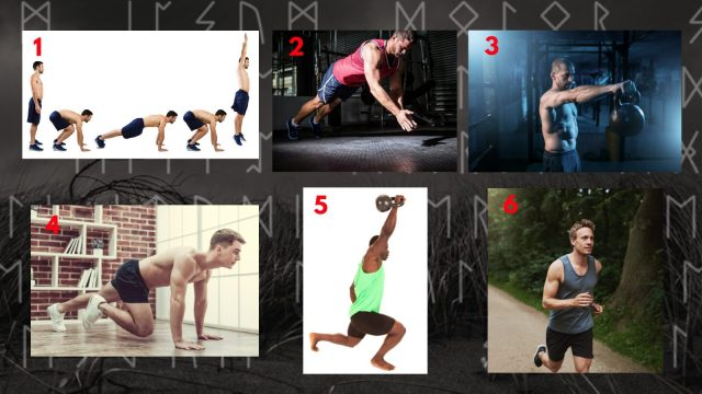 Functional Training Circuit. Halls of Valhalla Workout.