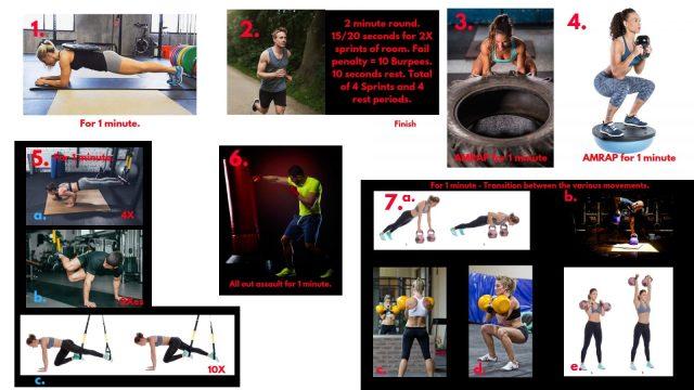 Highlander workouts. HIIT workouts. Kettlebell workouts. Muscular endurance. Speed drills. Braveheart.