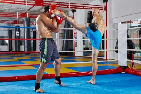 Kickboxing. Martial Arts Training. Conditioning. Shin kicks. Sparring.