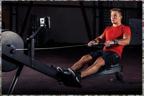 Rowing. Cardio Work. HIIT cardio.
