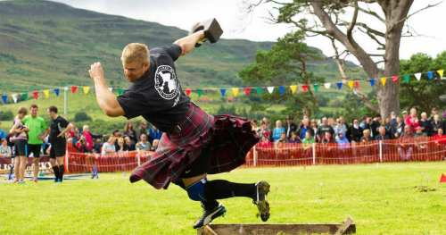 The Highland Games. Warrior Workouts. Super Soldier Workouts.
