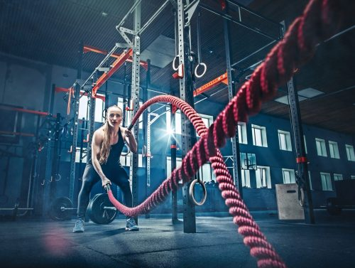 Battle ropes benefits. Full Body Workouts.