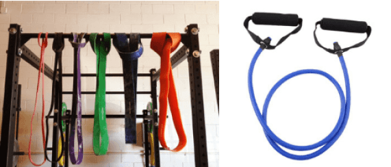 Resistance bands. Functional training equipment. Super Soldier Project.