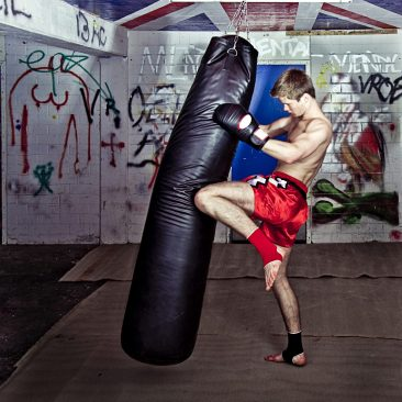 Pad-work. Muay Thai. Kickboxing. Martial Arts Training. Conditioning. Fight Club. Super Soldier Project.