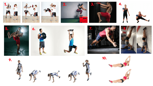 MMA workout. Martial arts drills. Whole body exercises. Bodyweight workouts. Super soldier workouts. Super Soldier Project.