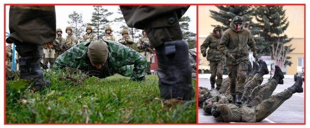 Pushups. Core training. pain tolerance. Spetsnaz training. Enter the Spetsnaz workouts.