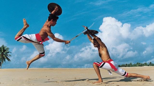 Indian kalaripayattu. Martial Arts of the World. Martial Arts Indian