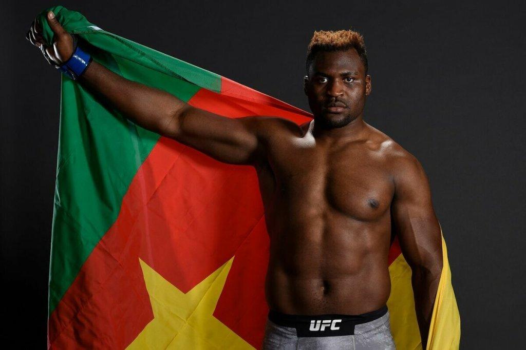 Francis Ngannou. UFC. MMA. Boxing. Pankration. Cameroon.