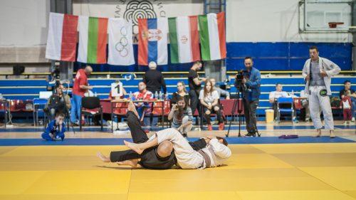 Brazilian Jiu Jitsu mixed martial arts grappling training at Fulham Gracie Barra academy in London, UK