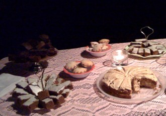 Just some of the homemade treats on offer