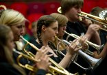 100 brass players joined the project