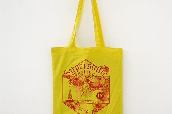 2019 Supersonic Festival tote bag