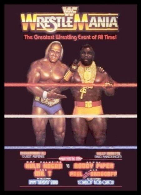 Image result for wrestlemania 1 poster