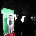 Green Screen set up example