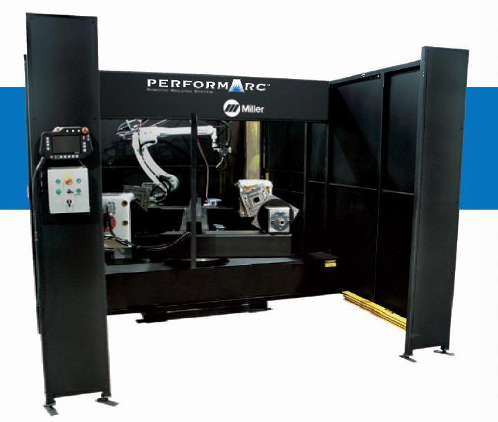 Miller Performarc Robotic Welding System