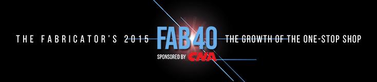 Super Steel #8 on FAB 40 List!