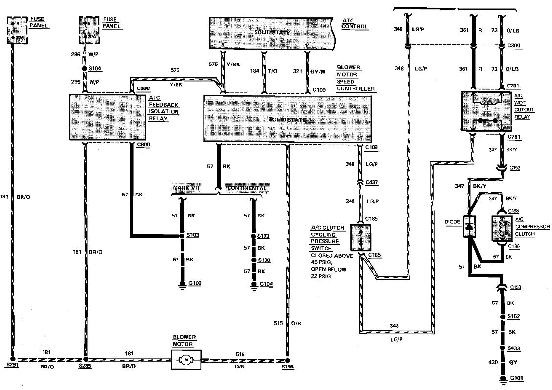 Lincoln Mark Vii Wiring Diagram