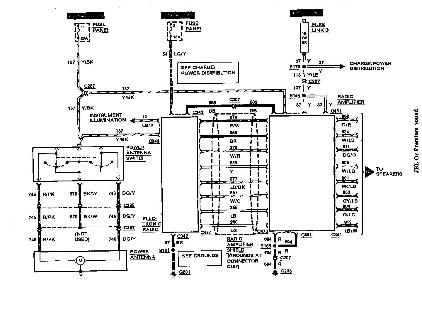 Radio Wiring Diagram Lincoln Continental Lincoln