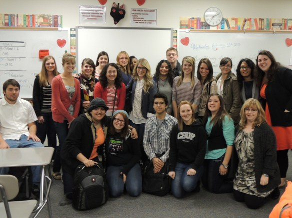 Combs High School Writing Workshop