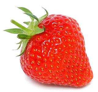 Menurut penelitian, kandungan dalam buah stroberi mampu menghambat kanker.