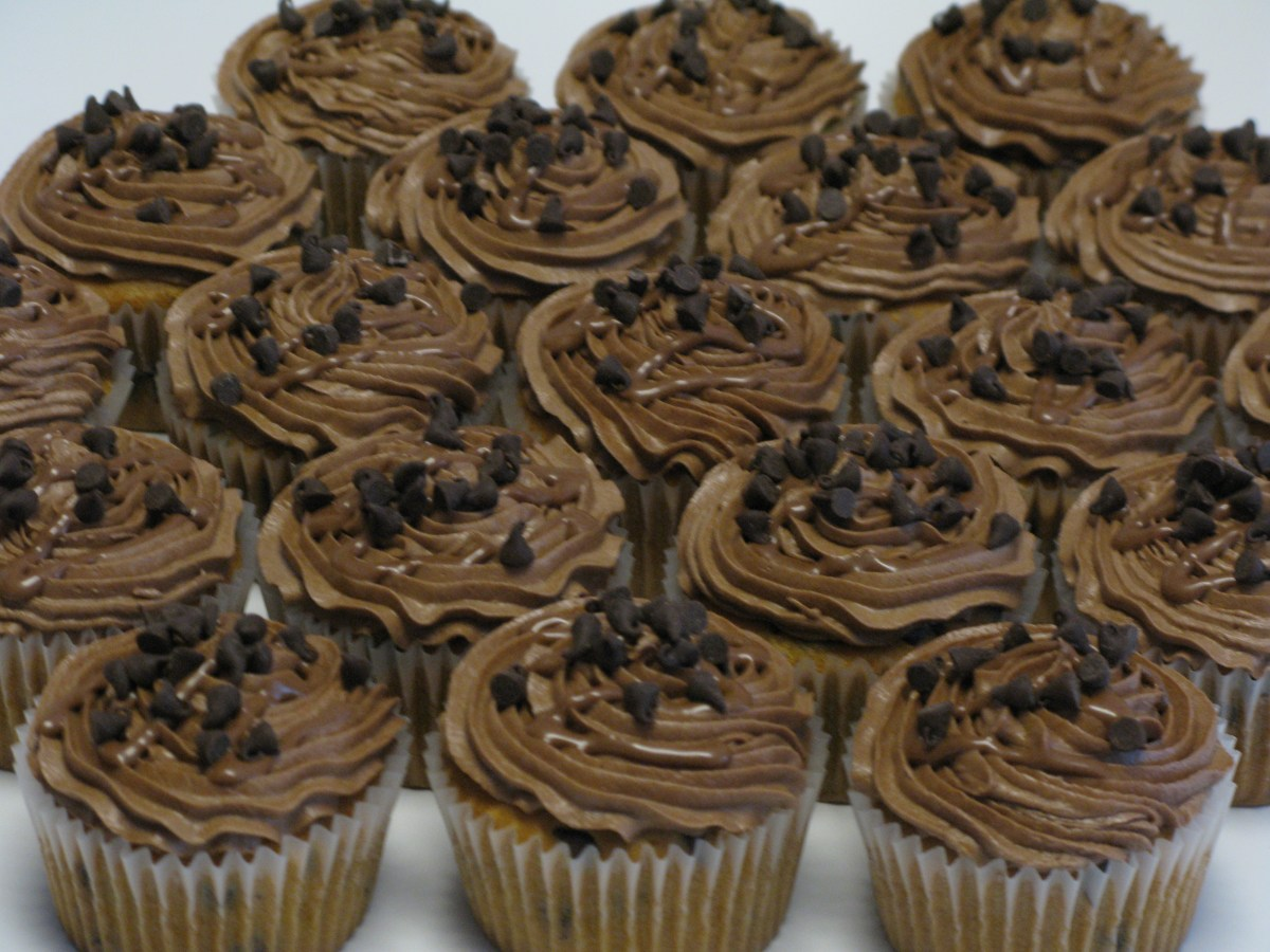 Peanut Buttery Heaven Cupcakes
