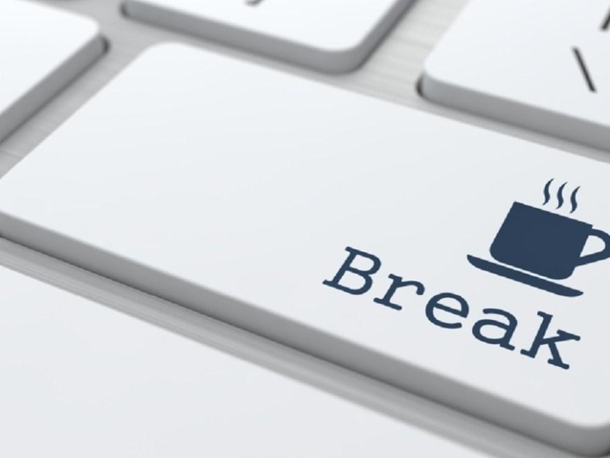 Computer breaks