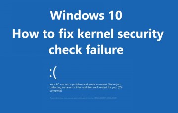 kernel security check failure