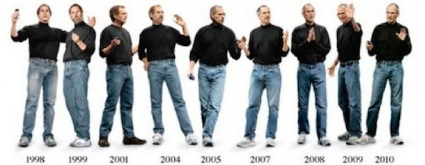 evolucao de steve jobs