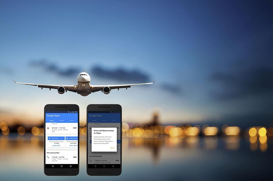 Google intensifica aposta no setor das viagens