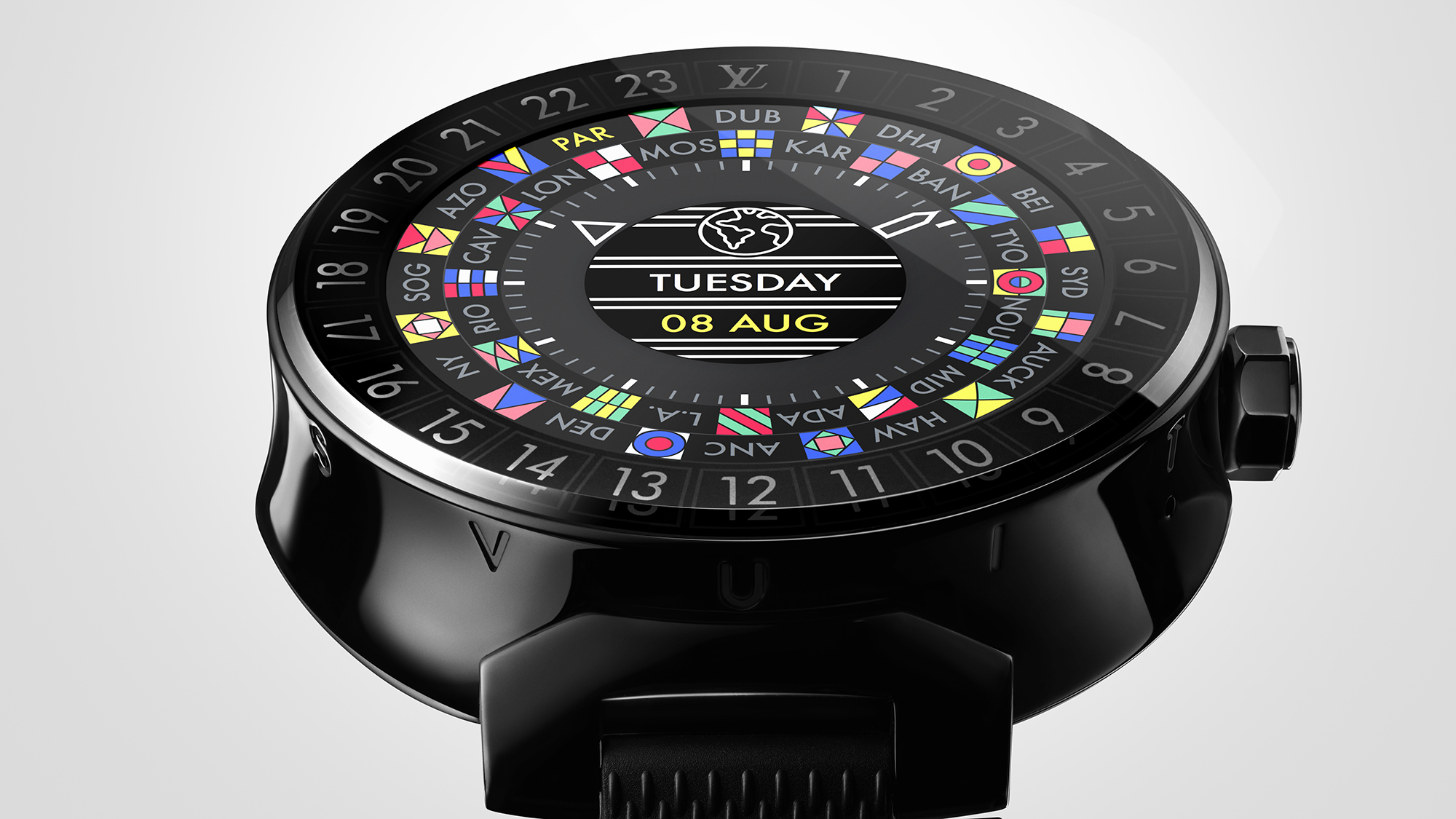 Louis Vuitton lança smartwatch