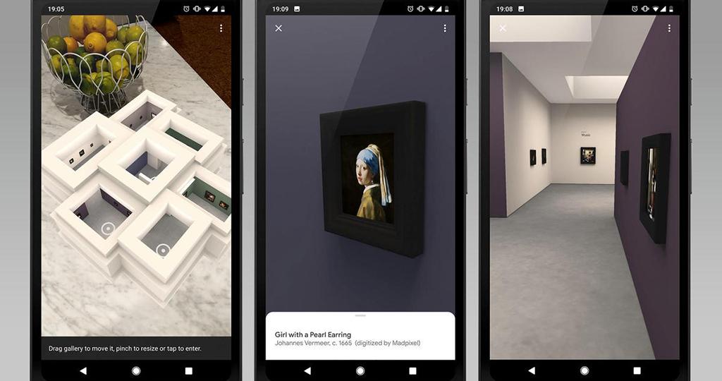 Google cria museu em realidade aumentada