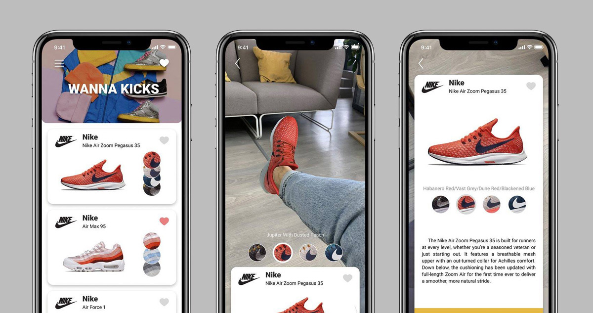 Wanna Kicks: nova experiência de compra em realidade aumentada