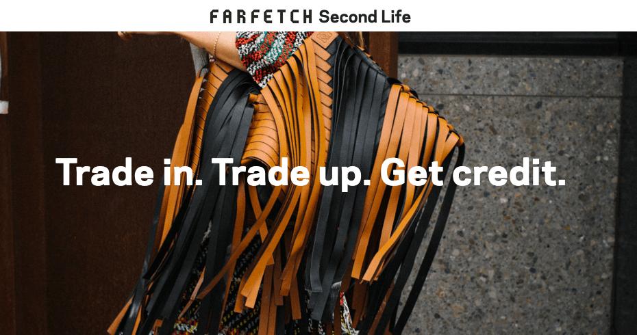 Farfetch cria serviço para vendas em segunda mão