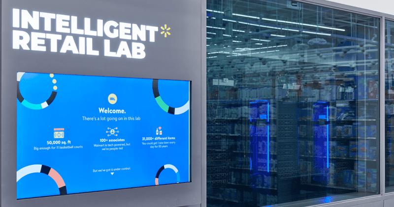 Walmart cria supermercado lab