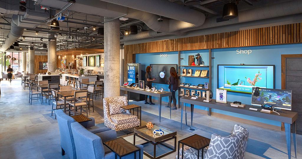 """AT&T lança novo conceito de loja """"The Lounge"""""""