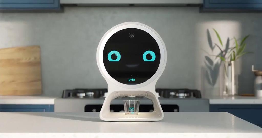 Pria, robô assistente pessoal médico