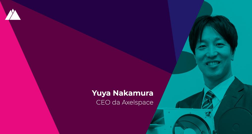 """Yuya Nakamura (Axelspace): """"A nossa constelação de mini-satélites pode ajudar vários negócios"""""""