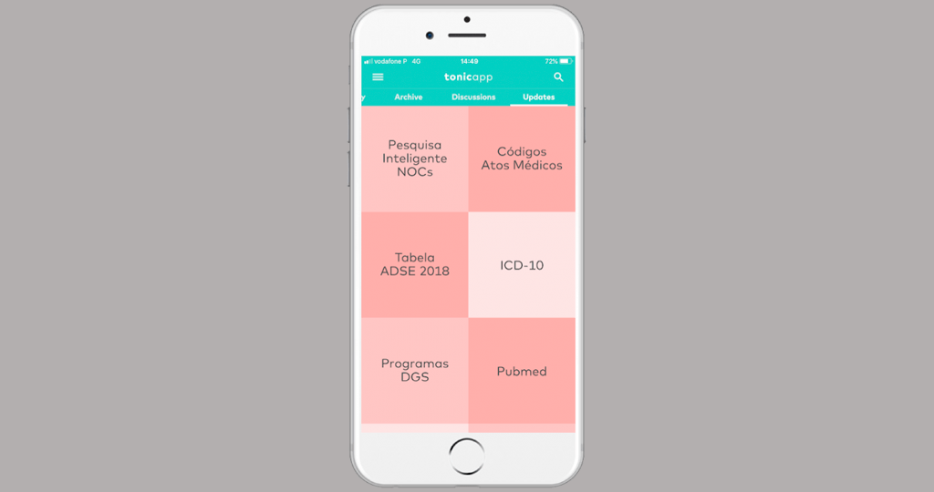 Tonic: App all-in-one para médicos