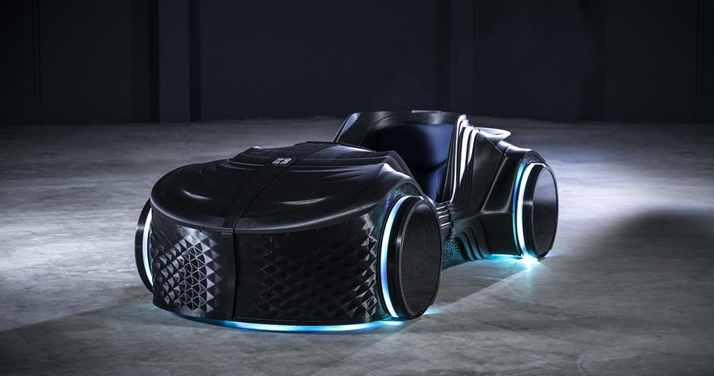 BigRep: carro elétrico e autoguiado impresso em 3D