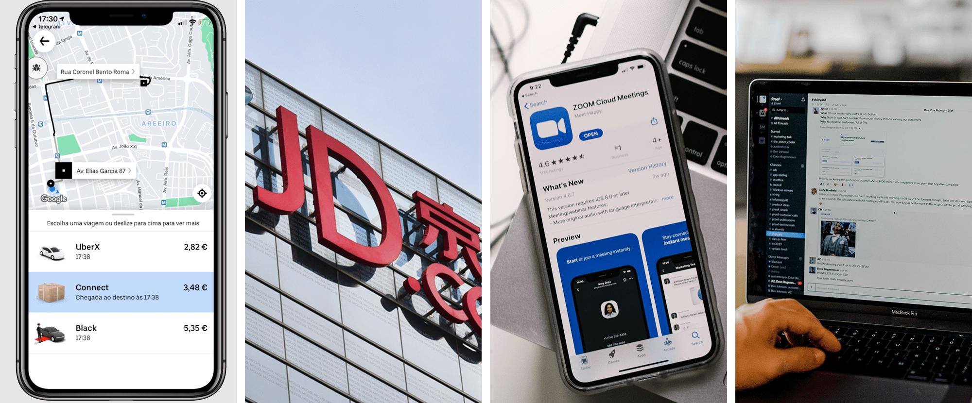 Uber lança serviço de estafetas em Portugal