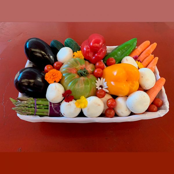Cesta hortalizas de temporada (Supertomate - Tienda online)