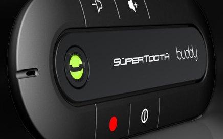 Supertooth buddy, Bluetooth Freisprecheinrichtung für Sonnenblende