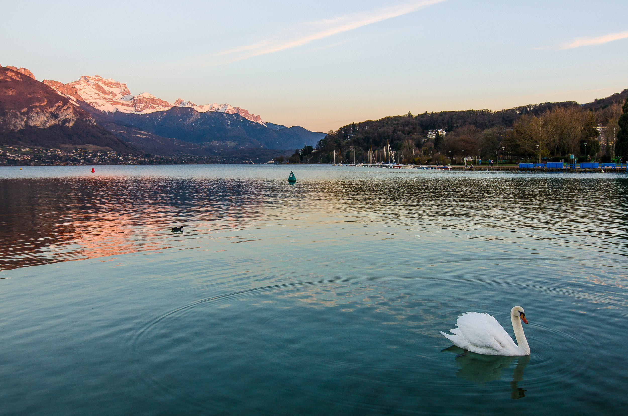 lac d'annecy visiter annecy