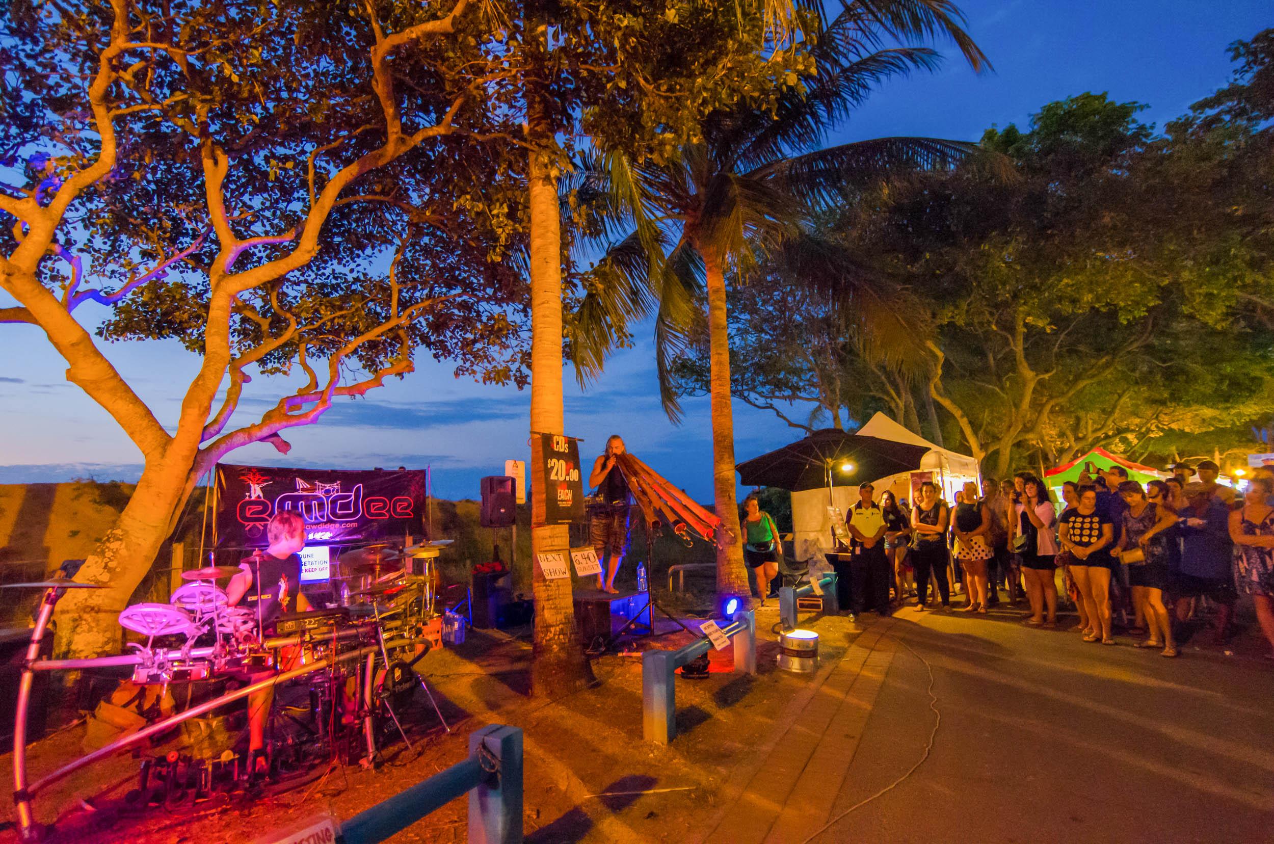 mindil beach market road trip adelaide-darwin