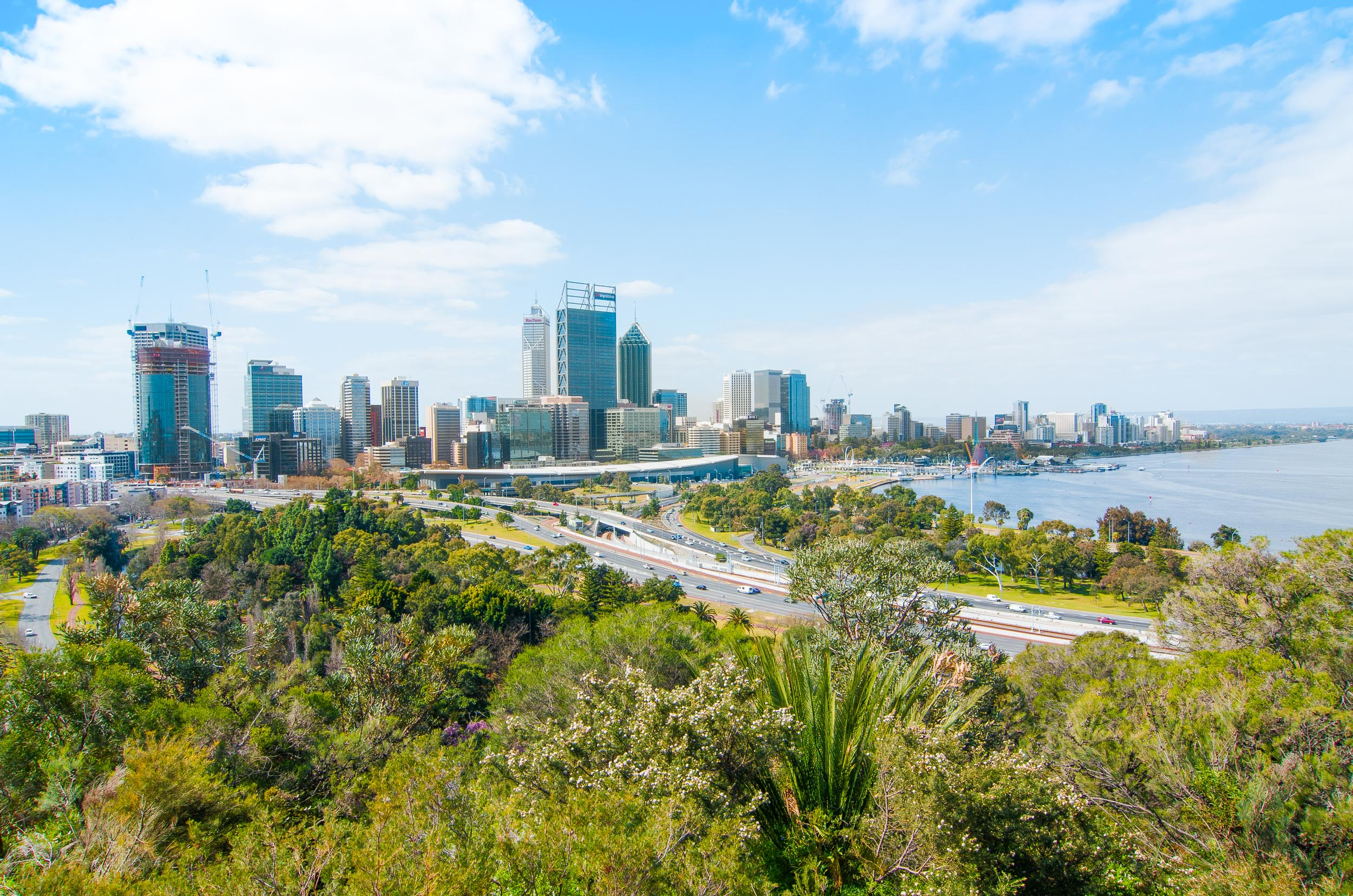 king's park lookout perth