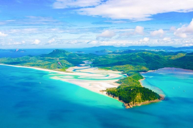 plus beaux paysages australie whitsunday islands