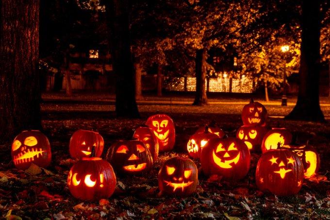 Jack O'Lanterns Calabazas de Halloween