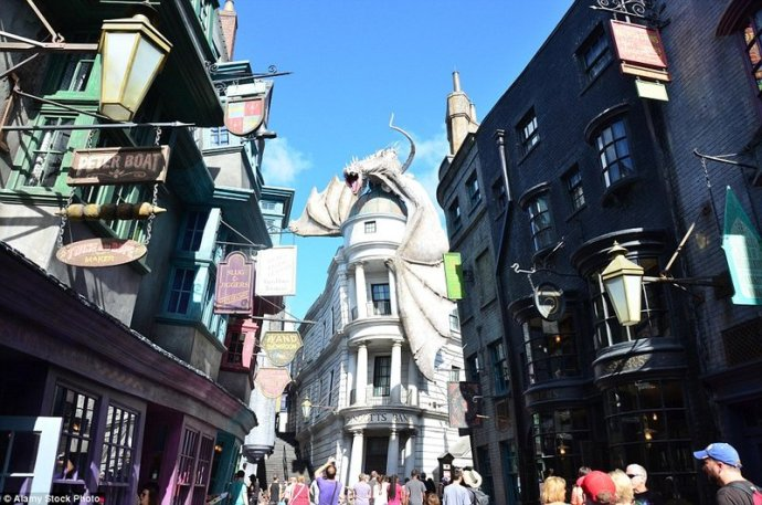 Parque Temático de Harry Potter Diagon Alley en Orlando
