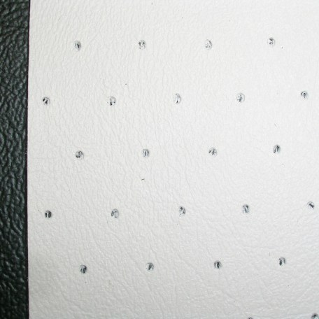 WHITE PERFORATED VINYL 015
